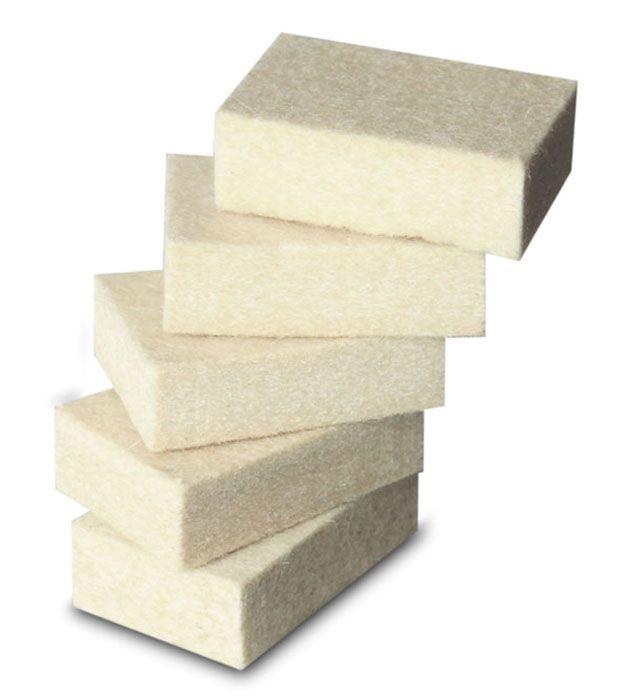 Refil Ponteiras de Feltro Branco Conjunto Markit C 5 un
