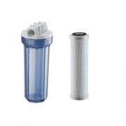 Filtro Hf 9.3/4 X 3/4 2º Estágio Transparente Poly Flow 50 Micra - 926-0006