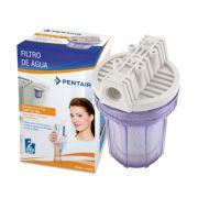 Filtro Pou 5 Transparente Carbon Block - 907-0025