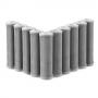 Elemento Filtrante Carvão Block 9.3/4' x 2.1/2' 5m; Encaixe - Bbie230/5  (10 unidades com 15% desconto)