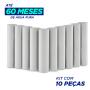 Elemento Filtrante Polipropileno Liso; Encaixe 09.3/4 X 2.1/2 - 5 Micra  (10 unidades com 15% desconto)