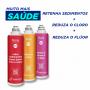 Filtro Facile C2 (Reter Sedimentos) + C3 (Reduzir o Cloro) + C6 (Reduzir o Flúor)
