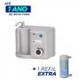 Purificador e Ozonizador de Água Arujá Titanium + 1 Refil Extra