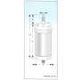 Refil Zufer para Filtro C33, C40, C50 e C70 Equation - ZF22103