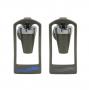 Torneiras Ibbl FR600 Empurra Copo Prata ( Par - Direita E Esquerda)