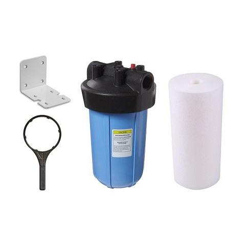 Carcaça Big 10´ Conexão 1.½´ Com Elemento Filtrante PP DGD7525. - Kit