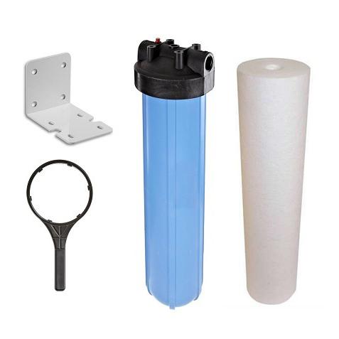 Carcaça Big 20' Conexão 1.1/2' Com Elemento Filtrante PP DGD2501 - Kit