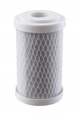 Elemento Filtrante Carvão Block 5´ X 2.1/2´ 25M; Encaixe (Shower) - Bbie125/25