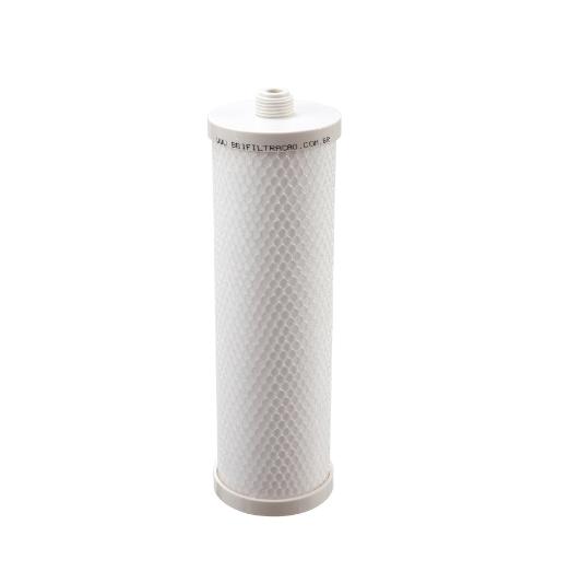 Elemento Filtrante PP Liso 9.3/4'; Rosca - 5 Micras - PP10R-05