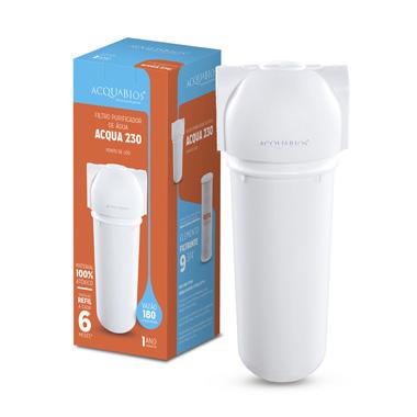Filtro Acqua 230 Branco Ab230 Conexão 1/2 - Acqua230Brca