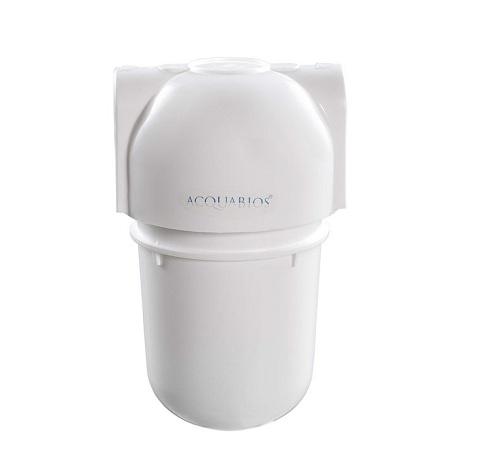 Filtro Acqua 5 Branco Carbon Block Conexão 1/2 (Sem Torneira) - 1000-0019