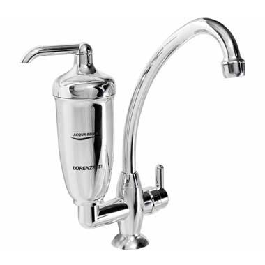 Filtro Agua / Torneira -Bancada / Acqua Bella Cromado - 7411818