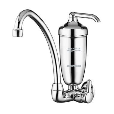 Filtro Agua / Torneira -Parede / Acqua Bella Cromado - 7411812