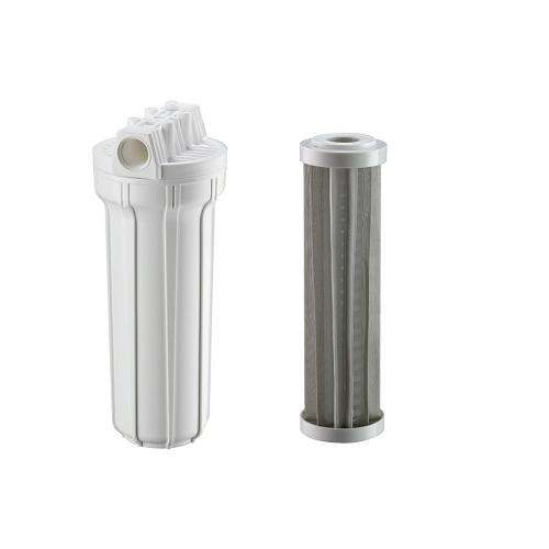 Filtro Hf 9.3/4 X 3/4 1º Estágio Branco Inox 150 Micra - 926-0008