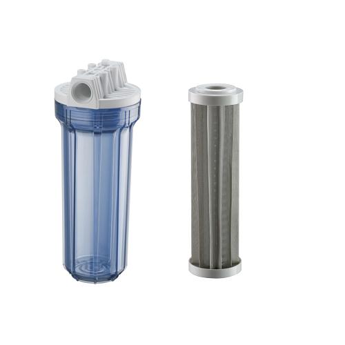 Filtro Hf 9.3/4 X 3/4 1º Estágio Transparente Inox 150 Micra - 926-0009
