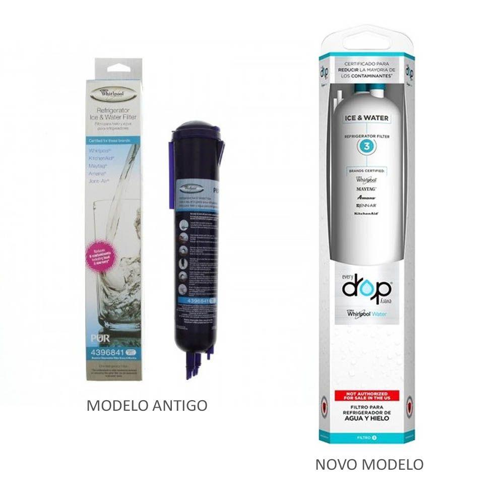 Filtro Interno Side By Side Brastemp - Aplicação: Brs62Bb / Brs62R / Brs70Gr - W10320833