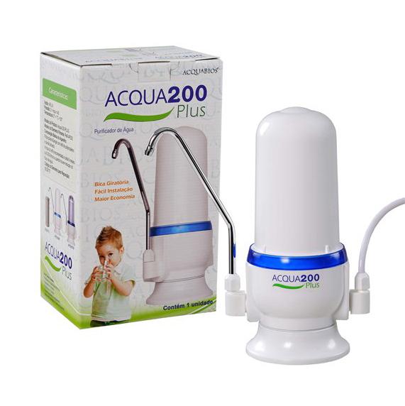 Purificador  Acqua200 Plus Branco - APBr200