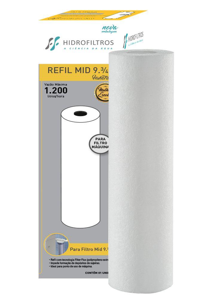Refil 05 Filter Flux 9.3/4' Liso (PP) - 905-0003