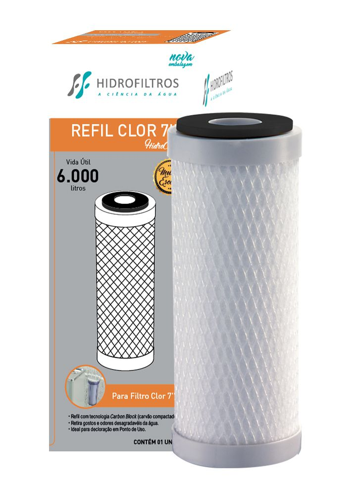 Refil Carbon Block 7 - 902-0011