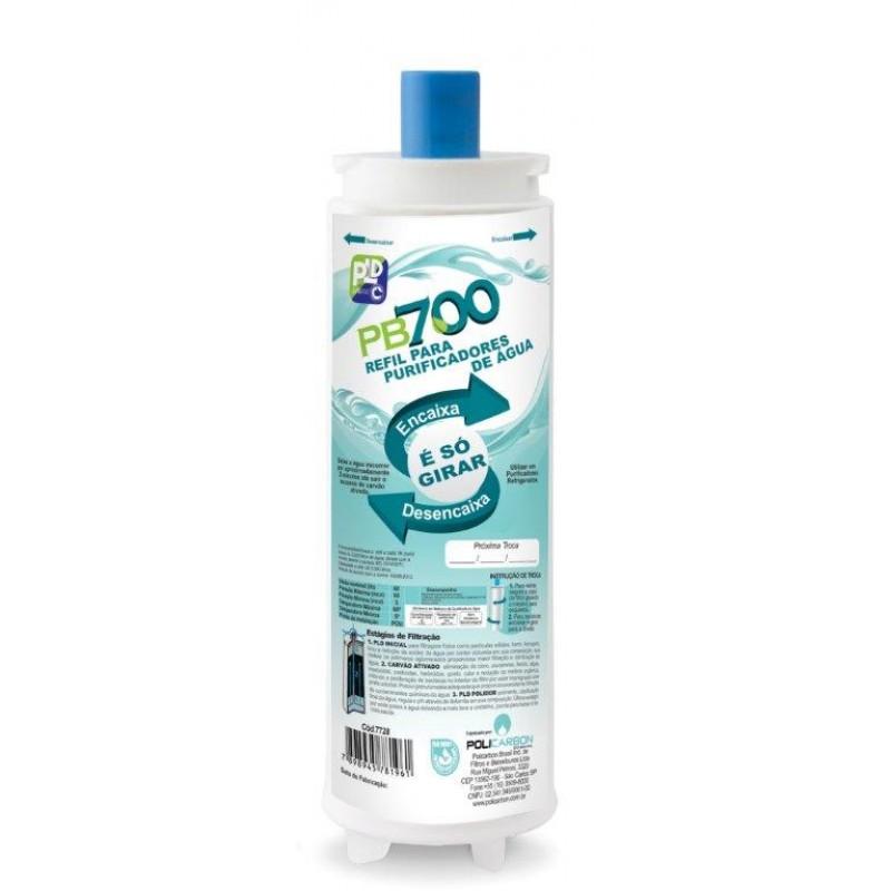 Refil PB700 - 7728 - Similar Purificador Master FRio Rótulo Azul - 7728