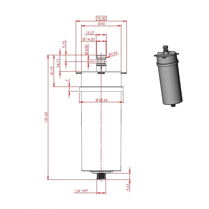 Refil Purificador H2O - 01057