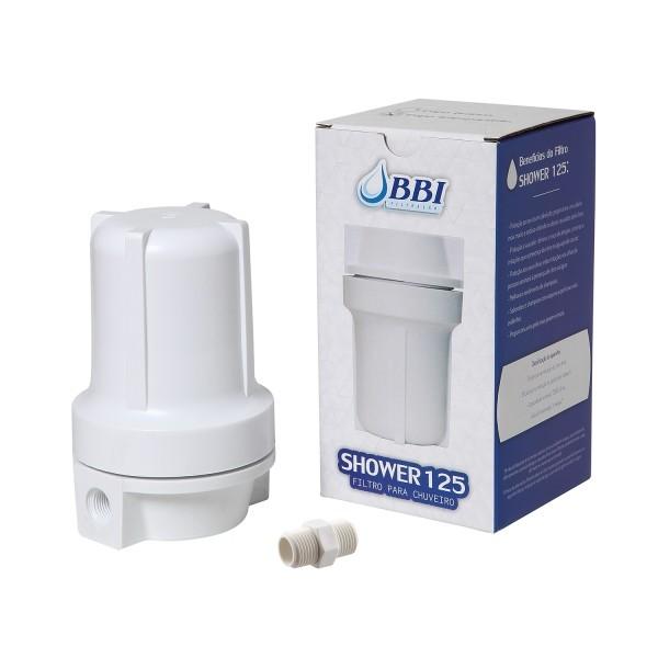 Shower 125 Filter Branco - Shower125/Br