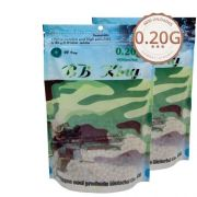 Airsoft Bbs Kit 2 Sacos Bb King 0.20g 8.000un