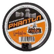 Chumbinho Phanton 5.5mm 125 Unidades - Fixxar