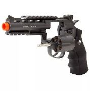 Revolver Airsoft Rossi Co2 Wg 701 4 Full Metal Preto