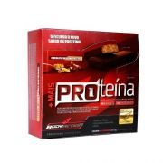 Barra de Proteína - Cx com 12 barras 30g - Chocolate com Avelã - BodyAction