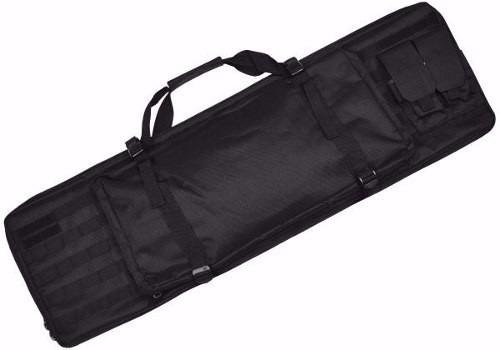 Capa Transporte Case Airsoft Estofada Sistema Molle Preta