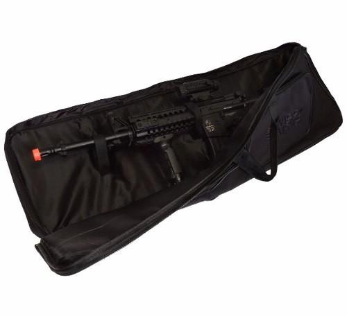 Case Para Airsoft Da Swiss Arms Preto De 100cm