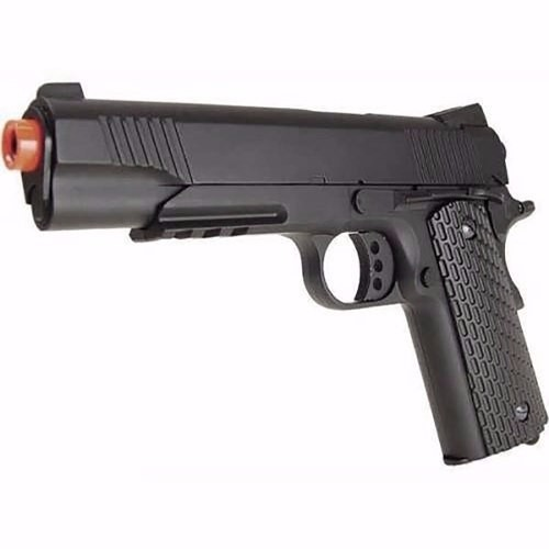 Pistola Airsoft Double Eagle 1911 M291 Spring Fullmetal