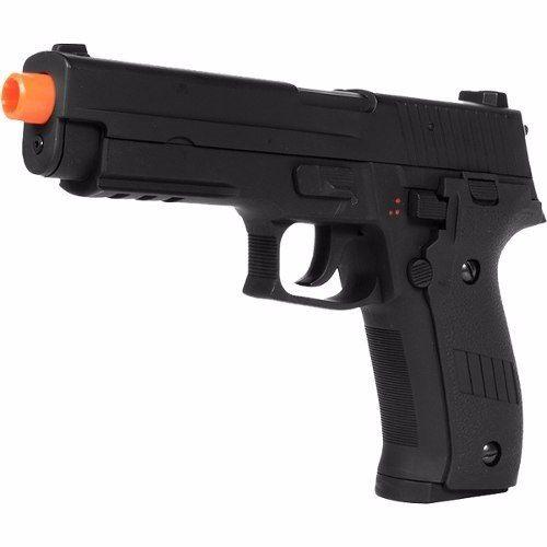 Pistola Airsoft Elétrica Cyma Cm122 Modelo Sig Sauer P226 Cal 6mm