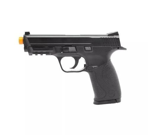 Pistola Airsoft S&w Mp40 Co2 Polímero Kwc Cal. 6mm