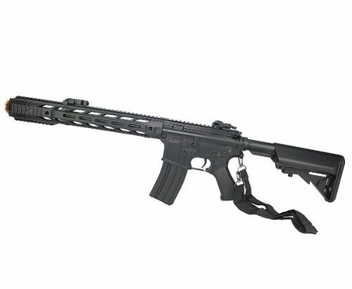 Rifle de Airsoft M4A1 Keymod CM518 Black Cal 6mm Bivolt - Cyma