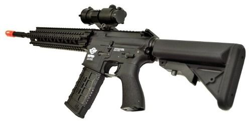 Rifle Airsoft Cm16 R8l G&g + Red Dot