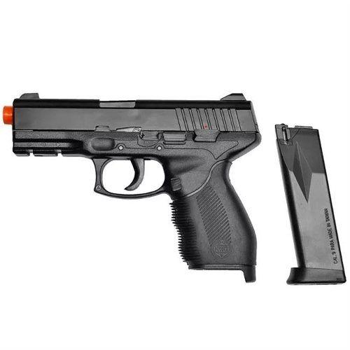Pistola Airsoft Taurus Pt24/7 Spring Kwc 6mm