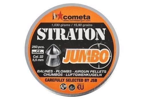 Chumbinho Jsb Cometa Straton Jumbo 5.5mm 250un