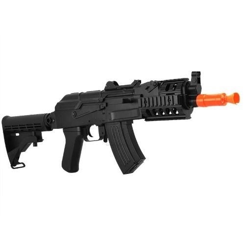 Rifle Airsoft Ak47 Beta Spetsnaz Cqb Cm521c - 6mm - Cyma