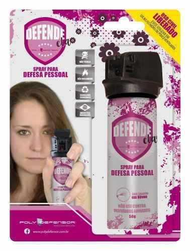 Spray Névoa/dispersão (defesa Pessoal) Poly Defensor 50g