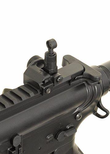 Kit Commando Rifle Bivolt Airsoft Cyma M4a1 Cm513 + Pistola CO2 Airsoft C11 + 4000 BBs