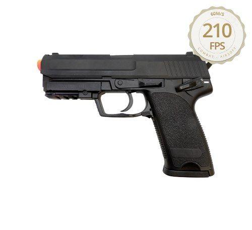 Pistola Airsoft CM 125 + Máscara + 5000 BBs + Óculos