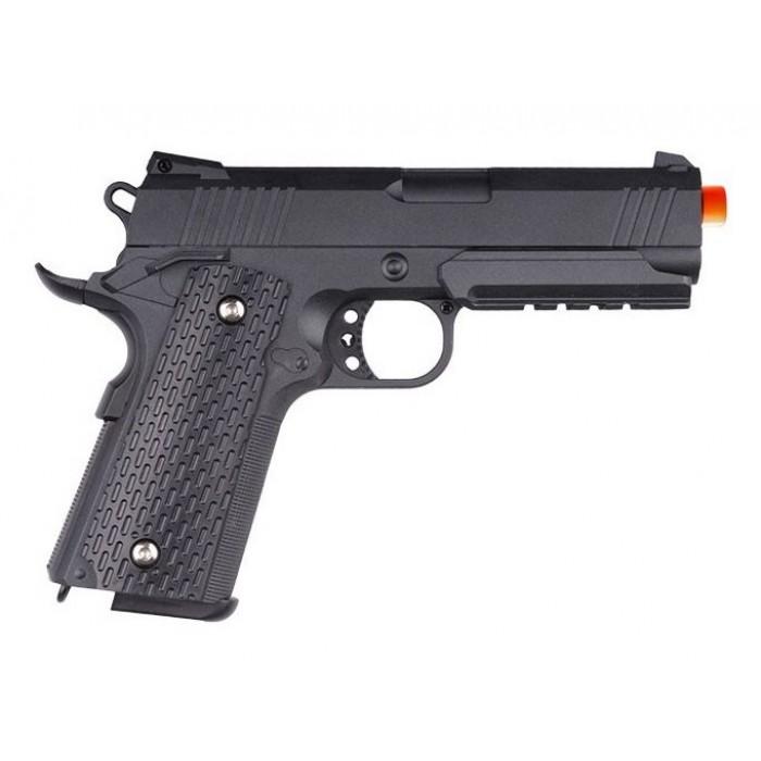 Pistola Airsoft Spring 1911 G25+ Full Metal 6mm Coldre Grátis
