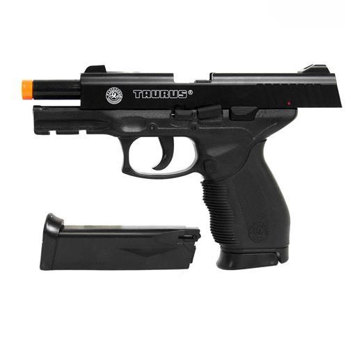 Pistola Airsoft Taurus PT24/7 Cybergun + Magazine + Maleta