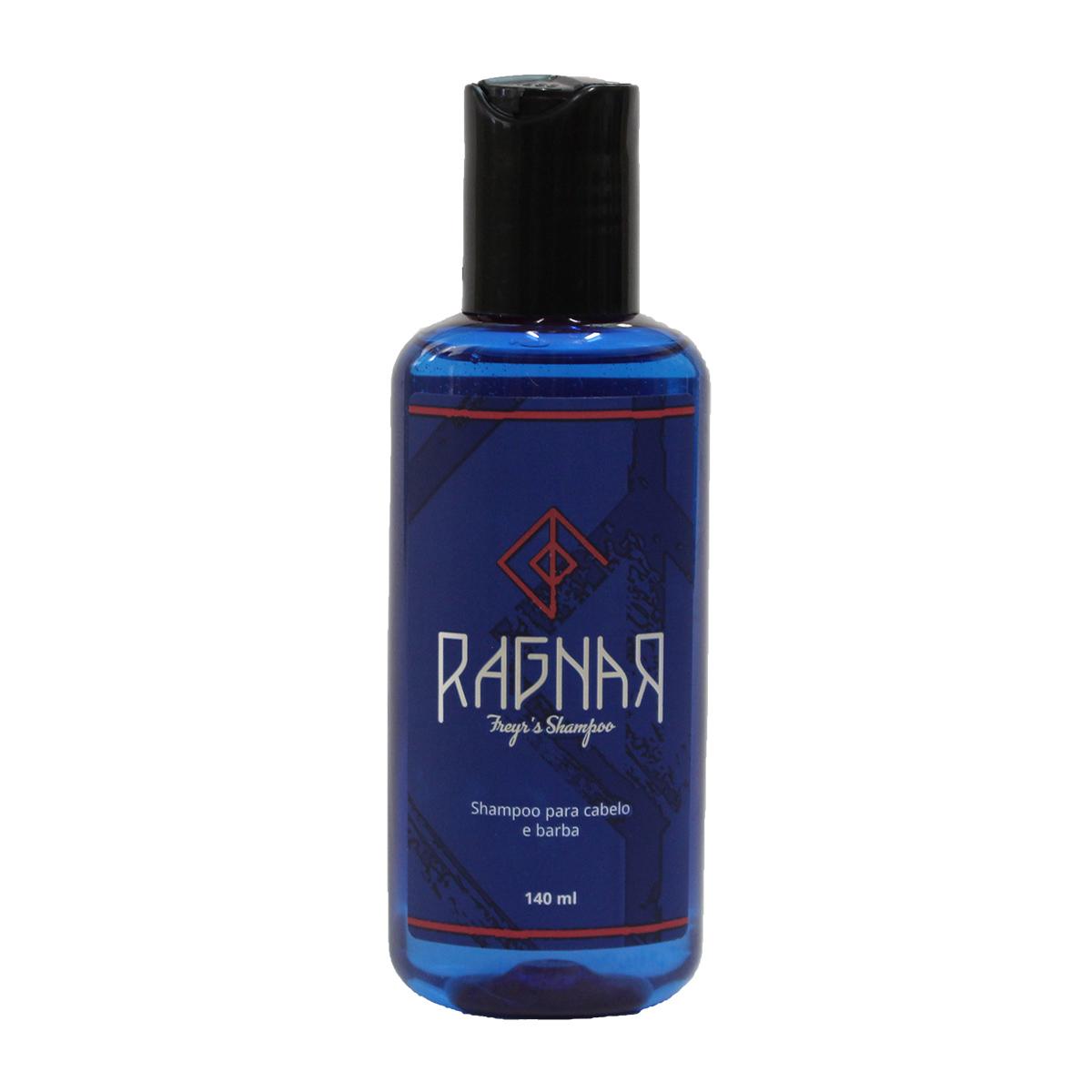 Shampoo para Cabelo e Barba 140 ml (Freyr's Shampoo)
