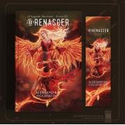 ***Pré-venda*** Livro O Renascer - O Legado Maytreel Livro 3 + Marcador Holográfico