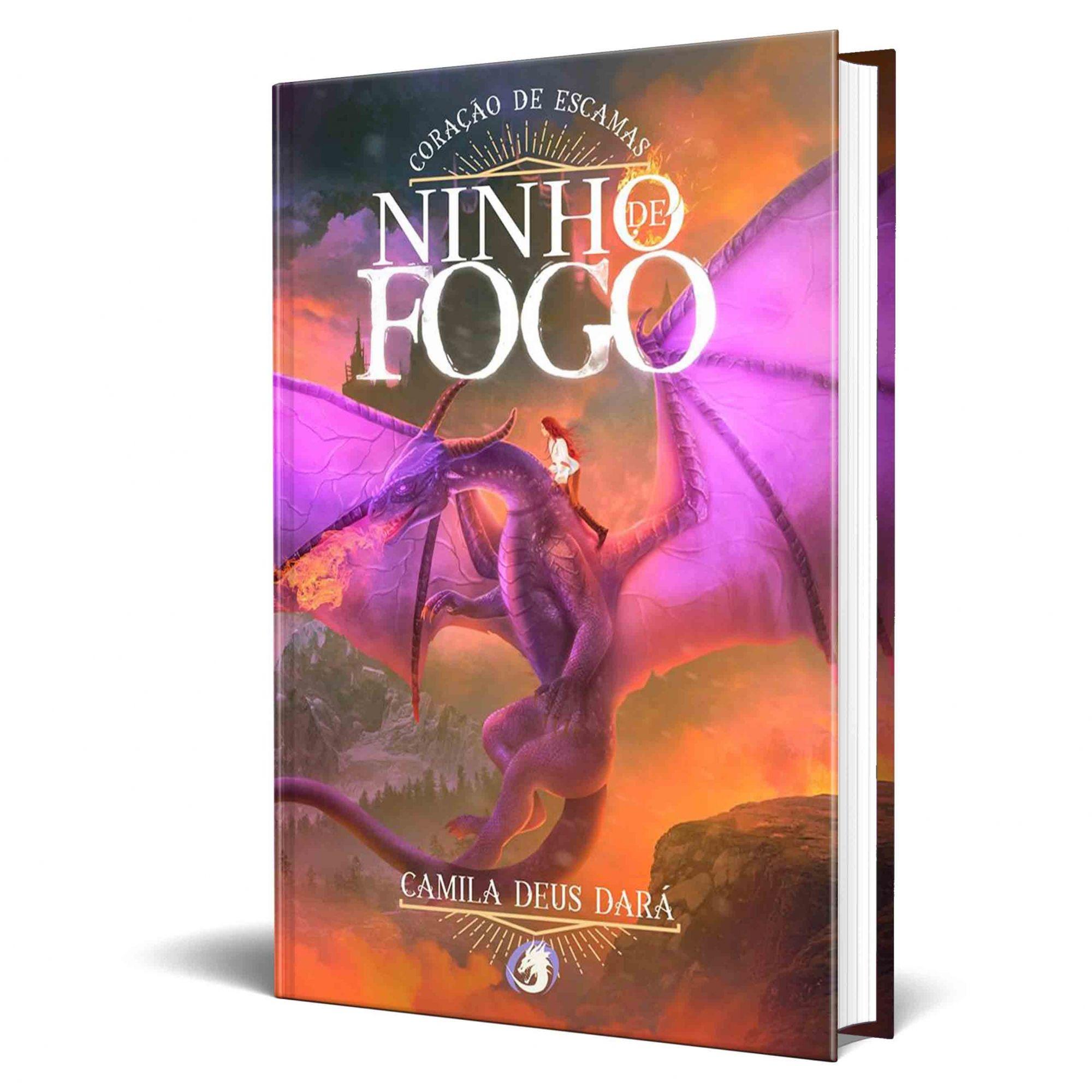 Livro Coração de Escamas - Volume 2 da Trilogia Ninho de Fogo