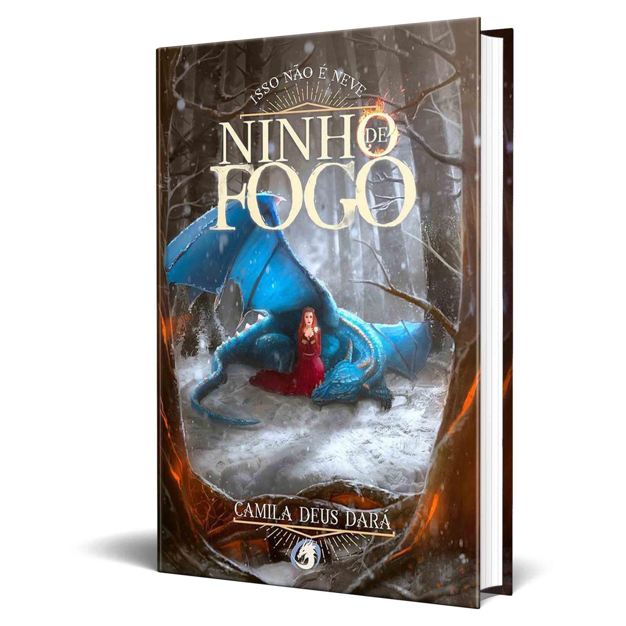 Livro Isso Não é Neve - Volume 3 da Trilogia Ninho de Fogo