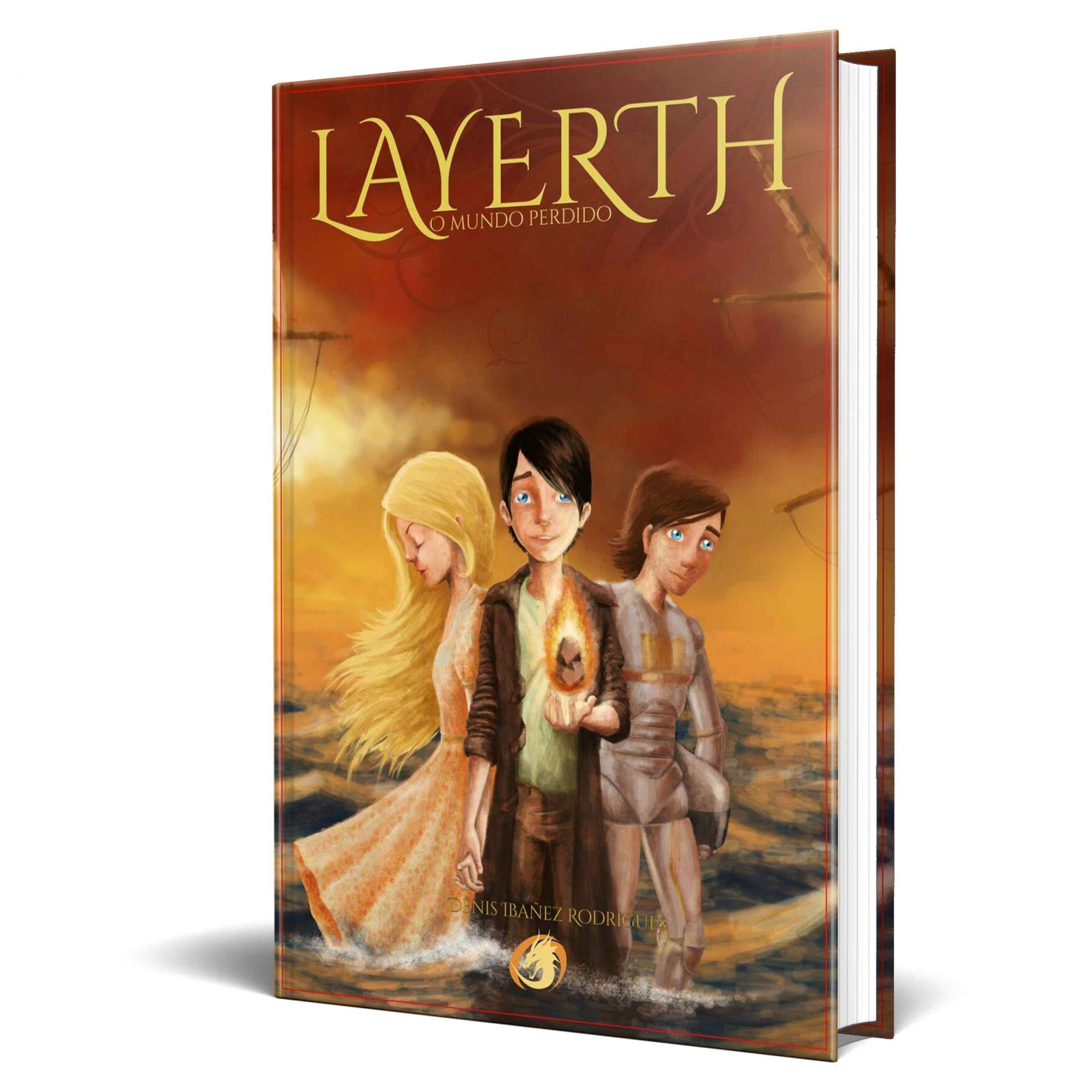 Livro Layerth - O Mundo Perdido
